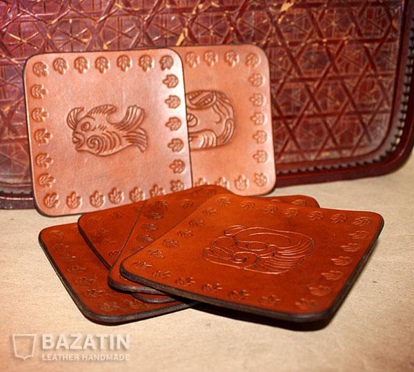 Подставки под кружки «Ацтекский мотив»